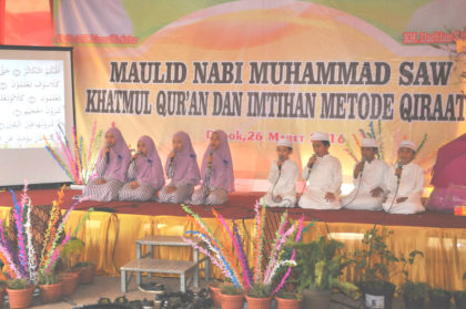 Khatmul Qur'an Siswa Siswi Terbaik